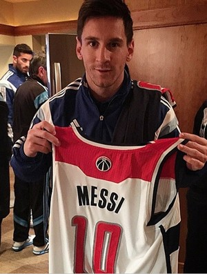 Messi NBA Washington x Indiana