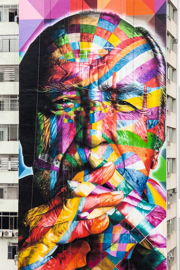 Murais Kobra (Foto: Divulgação)