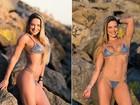 Ana De Biase perde dois quilos de gordura: 'Barriga está mais definida'