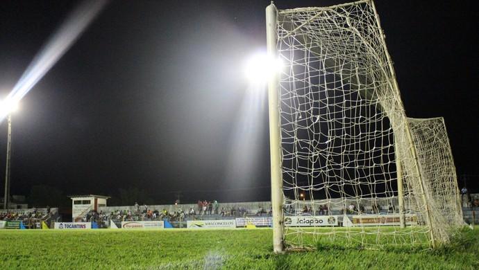 gol tocantinense (Foto: Vilma Nascimento/GloboEsporte.com)