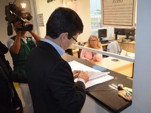 Senador Randolfe Rodrigues, da Rede (AP) (Foto: John Pacheco/G1)