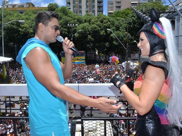 Carla Perez; Xanddy; Bahia; Carnaval (Foto: Max Haack/Ag Haack)
