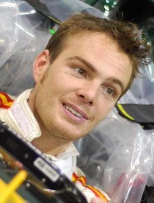 Giedo Van der Garde será reserva da Caterham na Fórmula 1 (Foto: Divulgação)