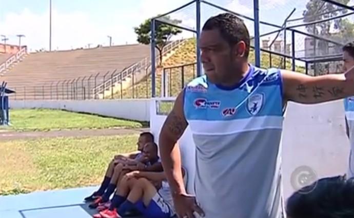 Leandro Guerreiro, Catanduvense (Foto: Reprodução / TV TEM)