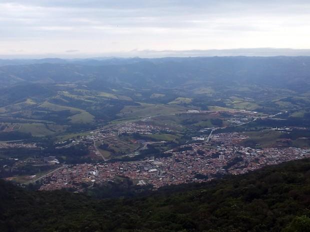 Extrema, Roteiros do Brasil, Sul de Minas, Rampa, Voo livre, Serra do Lopo (Foto: Daniela Ayres/ G1)