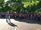Integrantes do MST protestam e se reúnem com representantes do Incra