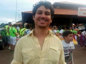 João Amorim, Macapá, Amapá (Foto: Jorge Abreu/G1)