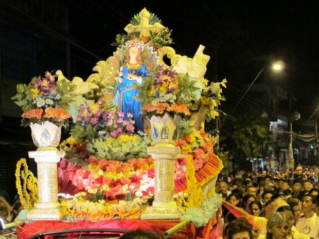 Edição 2011 da Procissão de Santa Luzia (Foto: Divulgação)
