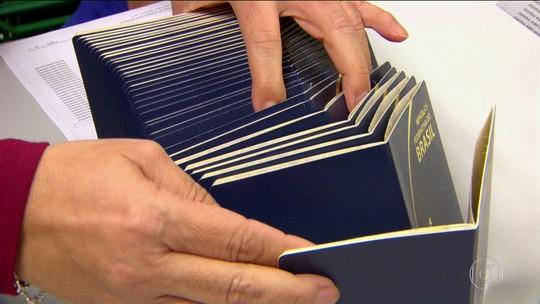 Emissão de passaportes é retomada após quase um mês de suspensão