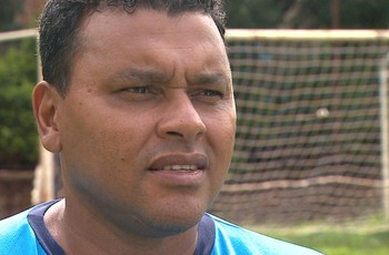Glauco, ex-jogador do Comercial de Ribeirão Preto (Foto: reprodução / EPTV)