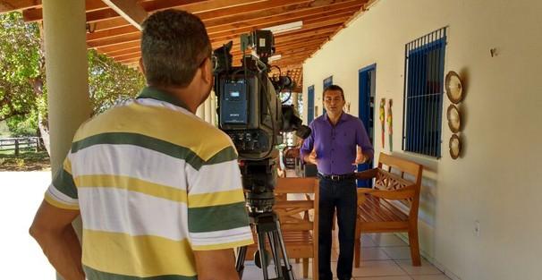 Marcos Teixeira traz todas as notícias do campo e agronegócio no Clube Rural (Foto: TV Clube)