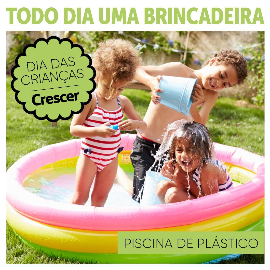 PISCINA-PLASTICO-TODO-DIA-UMA-BRINCADEIRA (Foto: Thinkstock)