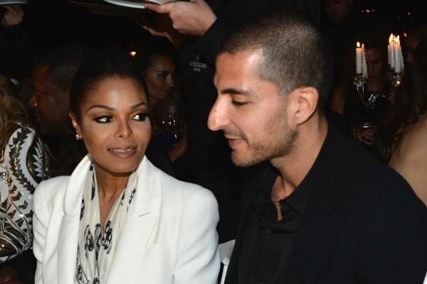 A cantora Janet Jackson e seu ex-marido (Foto: Instagram)