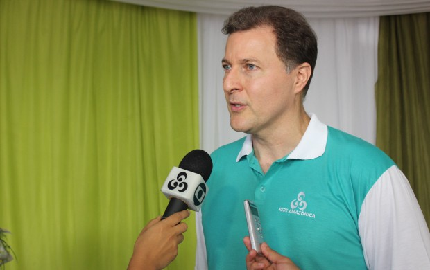 Phelippe Daou Jr. enfatiza legado do pai (Foto: Katiúscia Monteiro/ Rede Amazônica)