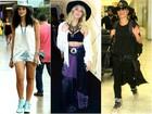 Famosas usam chapéus em looks no dia a dia; confira opções estilosas