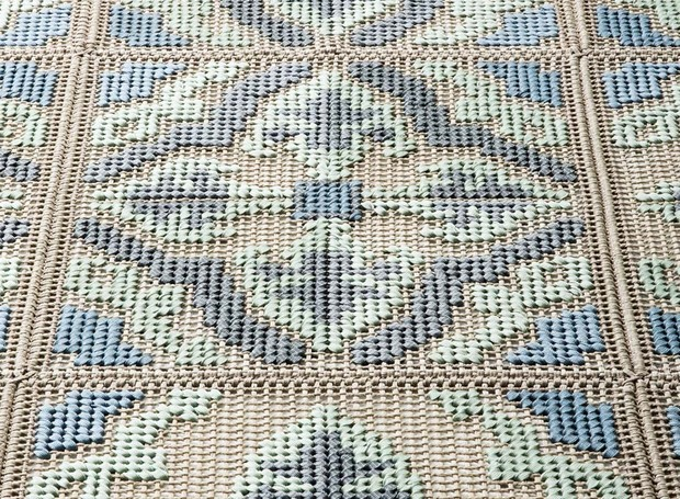 donna-florio-tapete-paola-lenti-milao-design-ponto-cruz-detalhe.jpg (Foto: Divulgação)
