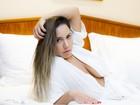 Mulher Melão sobre ensaio nu: 'Fiz para os homens, com muito tesão'