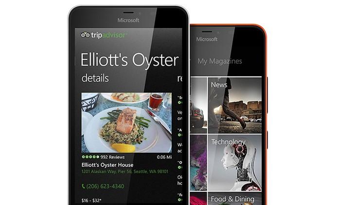 Microsoft Lumia 640 XL LTE com 4G (Foto: Divulgação/Microsoft)
