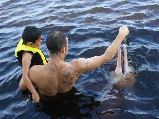 Bototerapia, em Manaus (Foto: Divulgação/Ampa)