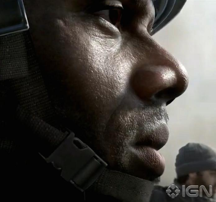 Call of Duty: Novo jogo da série impressiona com realismo de personagem (Foto: Reprodução / IGN)