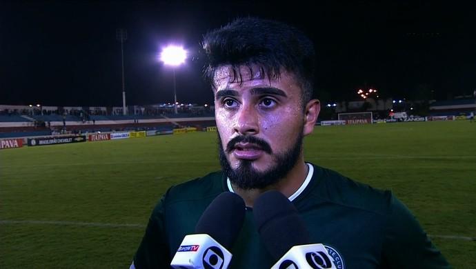 Rafhael Lucas - atacante do Goiás (Foto: Reprodução / PFC)