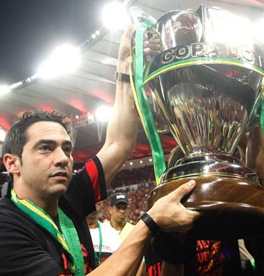 Chicão comemoração Copa do Brasil Flamengo (Foto: Marlona Falcão / Agência estado)