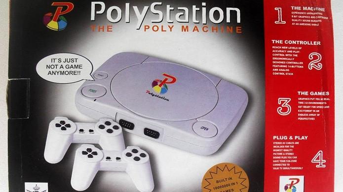 O PolyStation se tornou um clássico das imitações (Foto: Reprodução/Alvanista)