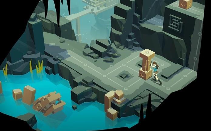 Lara encara uma aventura de quebrar a cabeça em novo jogo (Foto: Divulgação / Square Enix)