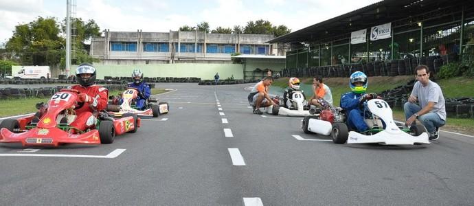 Campeonato Estadual RJ de Kart Rio Sul 2014 - 3ª Etapa (Foto: Gustavo Siqueira/Artmídia)