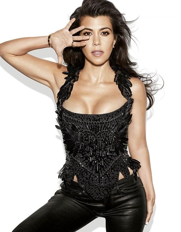 Kourtney Kardashian (Foto: Reprodução)