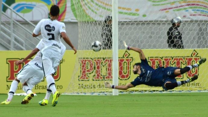 Vaná - goleiro do ABC (Foto: Frankie Marcone/ABC FC)