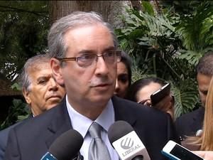 Gnews - Eduardo Cunha no Pará (Foto: globonews; globo news)