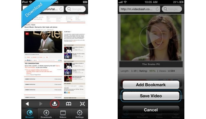 iBolt Downloader & Manager, para iOS, baixa vídeos de qualquer site (Foto: Divulgação)