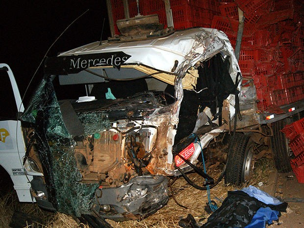 Acidente ocorreu na BR-163, próximo a Lucas do Rio Verde. (Foto: Expresso MT)