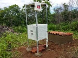 Paramoti recebe estação de laboratório de sismologia (Foto: Sismos do Nordeste/Divulgação)