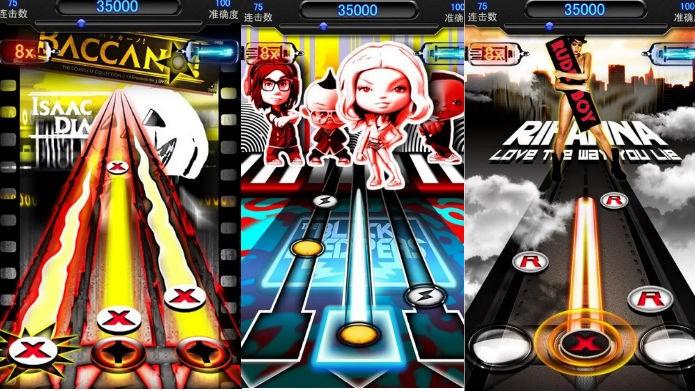 Music Tapping(Beats): Guitar Hero com música Pop e R&B (Foto: Divulgação)