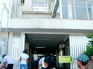 Enfermeira foi esfaqueada no Hospital dos Plantadores de cana (Foto: Reprodução / Inter TV)