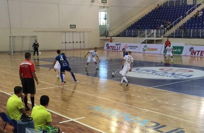 Orlândia x Dracena - quartas de final da Copa Paulista de Futsal (Foto: Vanderlei Valério / Cedida)