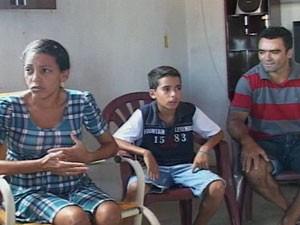 Mulher descobre que está grávida de quíntuplos na Paraíba  (Foto: Reprodução/TV Paraíba)