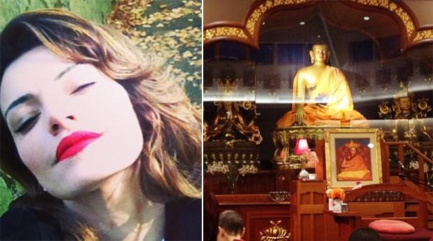 Lifestyle zen define a felicidade para a atriz Mayana Neiva. (Foto: Reproduo Instagram)