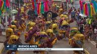 Ruas de Buenos Aires são tomadas por agremiações culturais