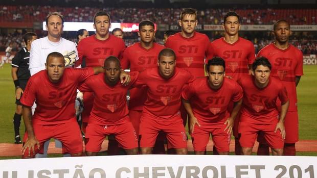 São Paulo (Foto: Rubens Chiri / saopaulofc.net)