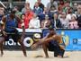 Duplas brasileiras largam com vitórias no torneio masculino em Hamburgo