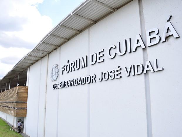 Fórum de Cuiabá (Foto: Divulgação/TJMT)
