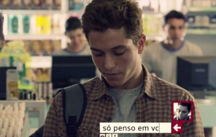 Em Confissões de Adolescente, Christian Monassa estreou no cinema (Foto: Divulgação)