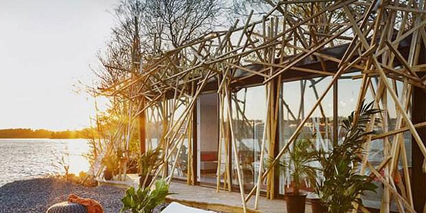 A casa da ilha Svanholmen tem design de Alexander Lervik (Foto: Divulgação)