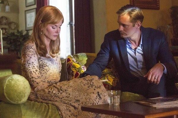 Nicole Kidman e Alexander Skarsgard em cena de Big Little Lies (Foto: Reprodução)