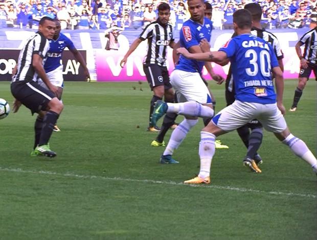 Cruzeiro e Botafogo; Mineirão