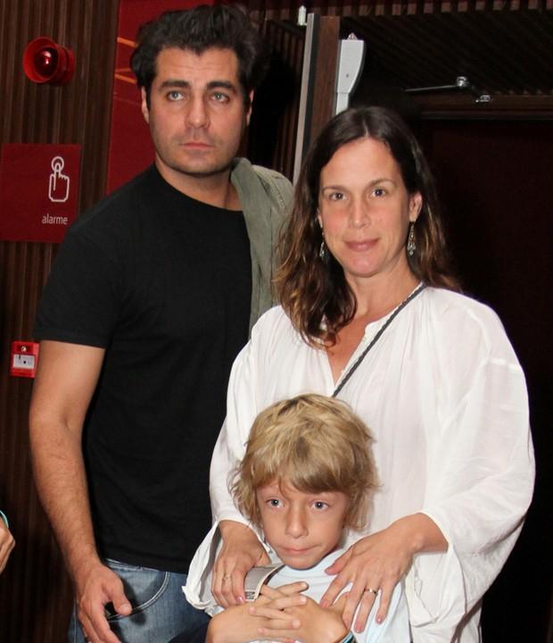 Thiago Lacerda e Vanessa Lóes (Foto: Anderson Borde/AgNews)