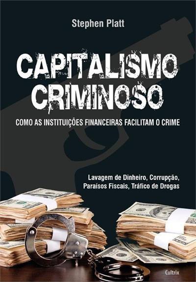 Capa do livro 'Capitalismo Criminoso'